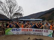 (중앙본부)외래식물 퇴치 및 불법엽구수거 행사